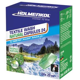 Holmenkol Textile Wash Natural Kapsler 24 stk.